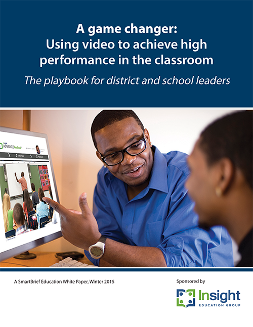 Insight ADVANCE Game Changer report about video observation to improve instruction.