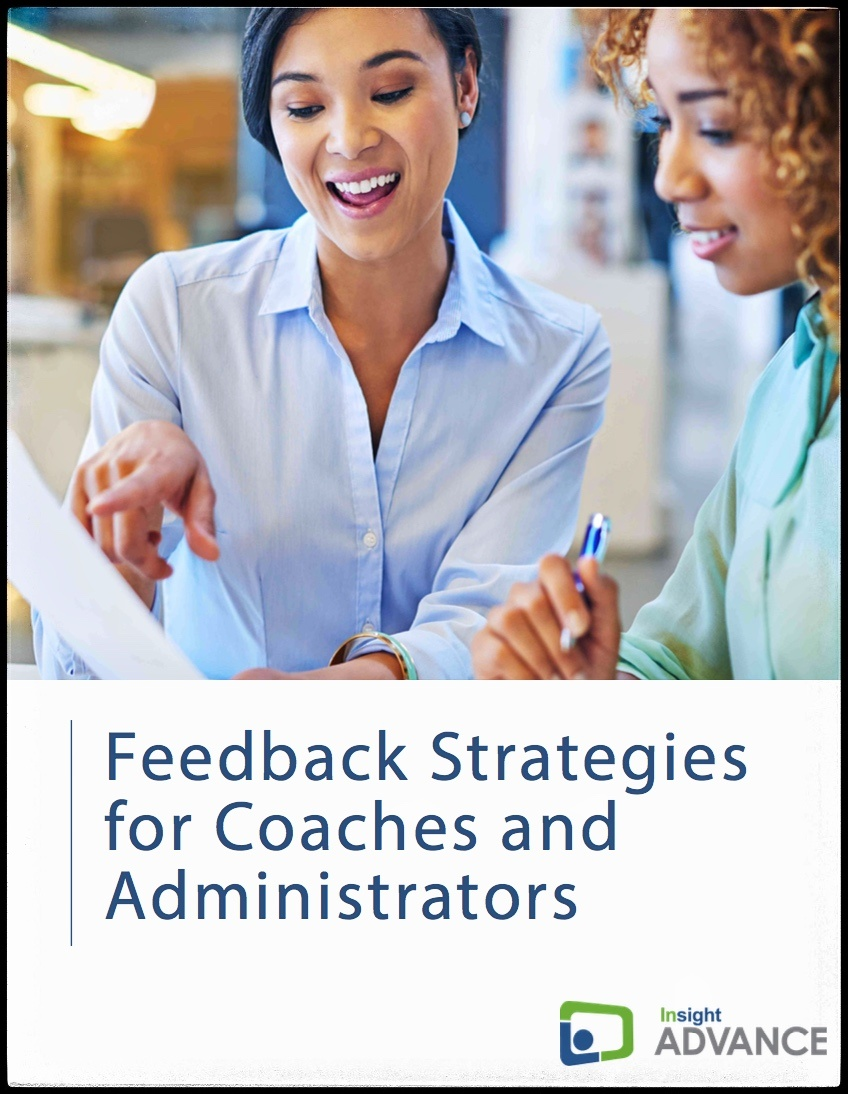 Insight ADVANCE Feedback Strategies ebook Cover