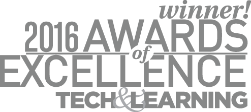 Award of Excellence 2016 - Tech & Learning