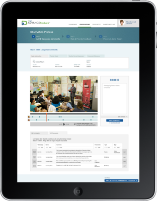 Tech & Learning Product Review: Insight's ADVANCEfeedback®