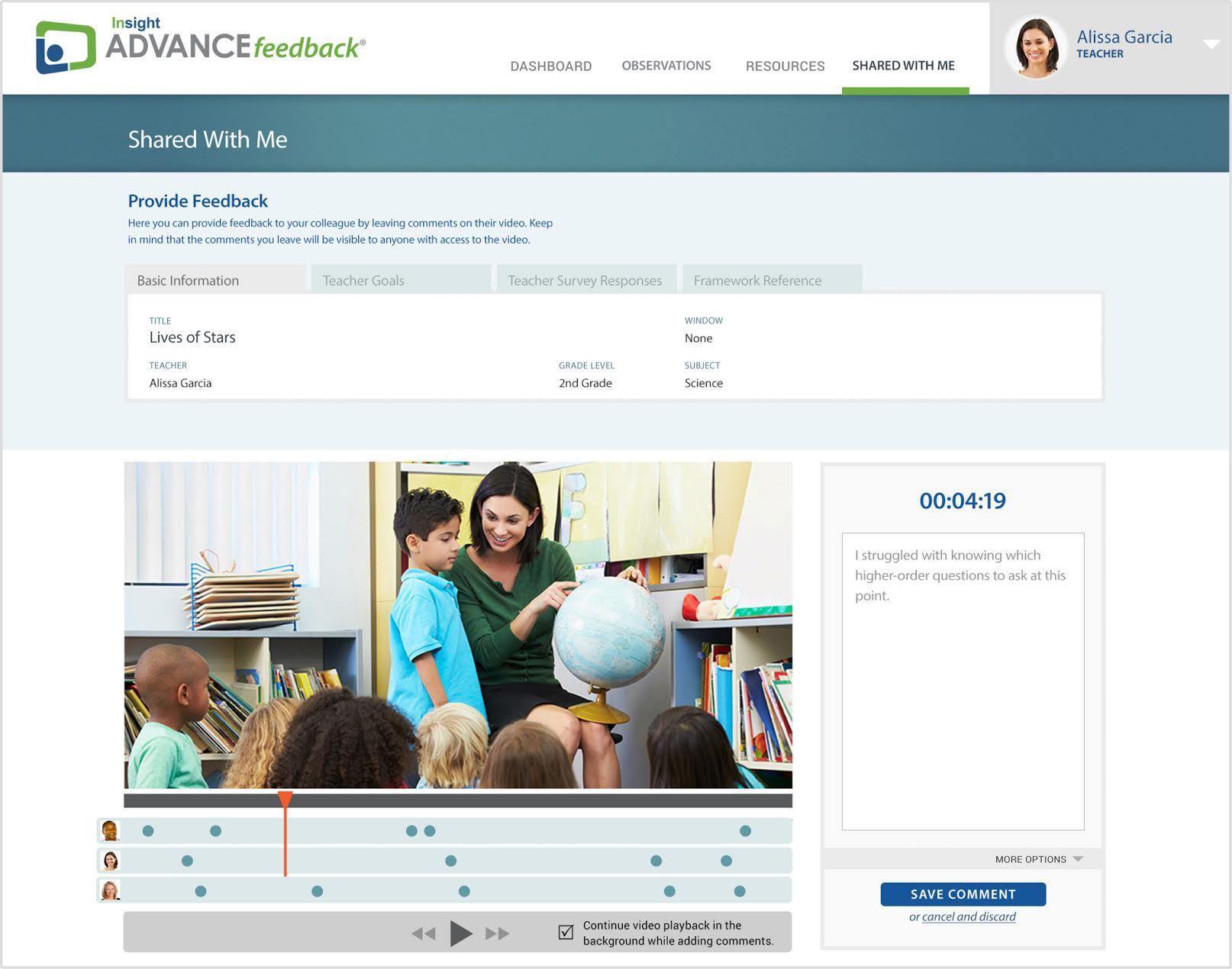 Professional Development - ADVANCEfeedback