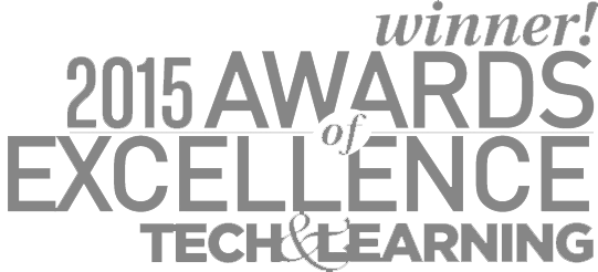 Award of Excellence 2015 - Tech & Learning